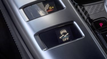 Mercedes-AMG GT 63 centre console detail