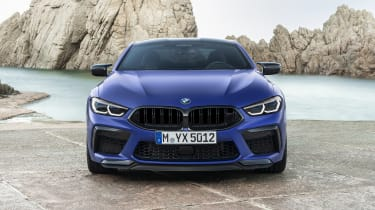 BMW M8 Competition coupe - front view static