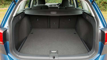 The Golf Estate's boot isn't the very biggest in the class, but it can still carry a lot