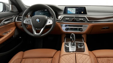 BMW 7 Series saloon interior