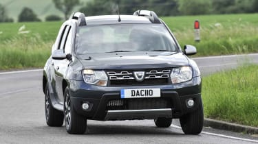 Dacia now offers an automatic gearbox with the Duster, but you'll have to choose a higher trim level if you want this