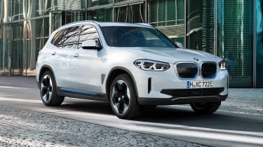 BMW iX3 front view
