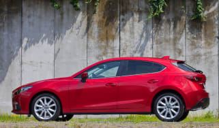 Mazda3 2013 side profile