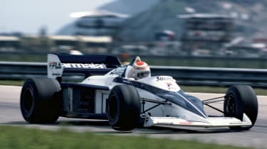 BMW won a Formula 1 season with the engine from a 3 Series