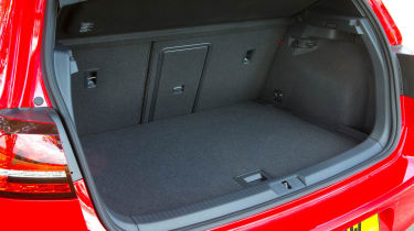 The boot is just as substantial and useful as any other VW Golf