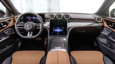 2021 Mercedes C-Class interior