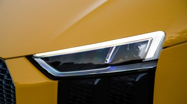 LED laser headlights are also optional and enhance the overall appearance of the car, as well as being brighter.