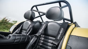 The seats are supportive and most drivers will find them comfortable, though larger drivers may find them restrictive