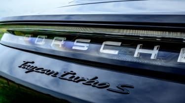 Porsche Taycan saloon rear badge