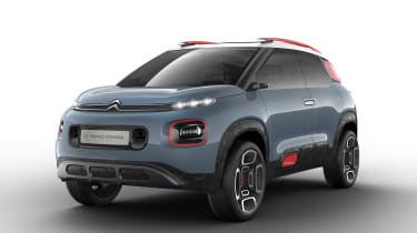 The Citroen C-Aircross previews a car that'll become the next C3 Picasso