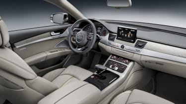 Audi A8 saloon 2014 interior front