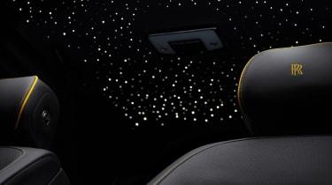 Rolls-Royce Cullinan Black Badge Starlight headliner