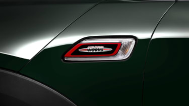 There are plenty of John Cooper Works logos