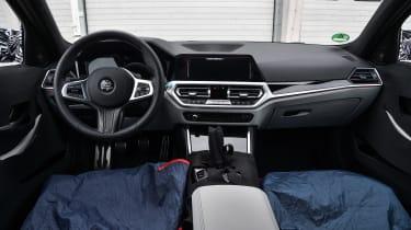2020 BMW M3 saloon prototype - dashboard
