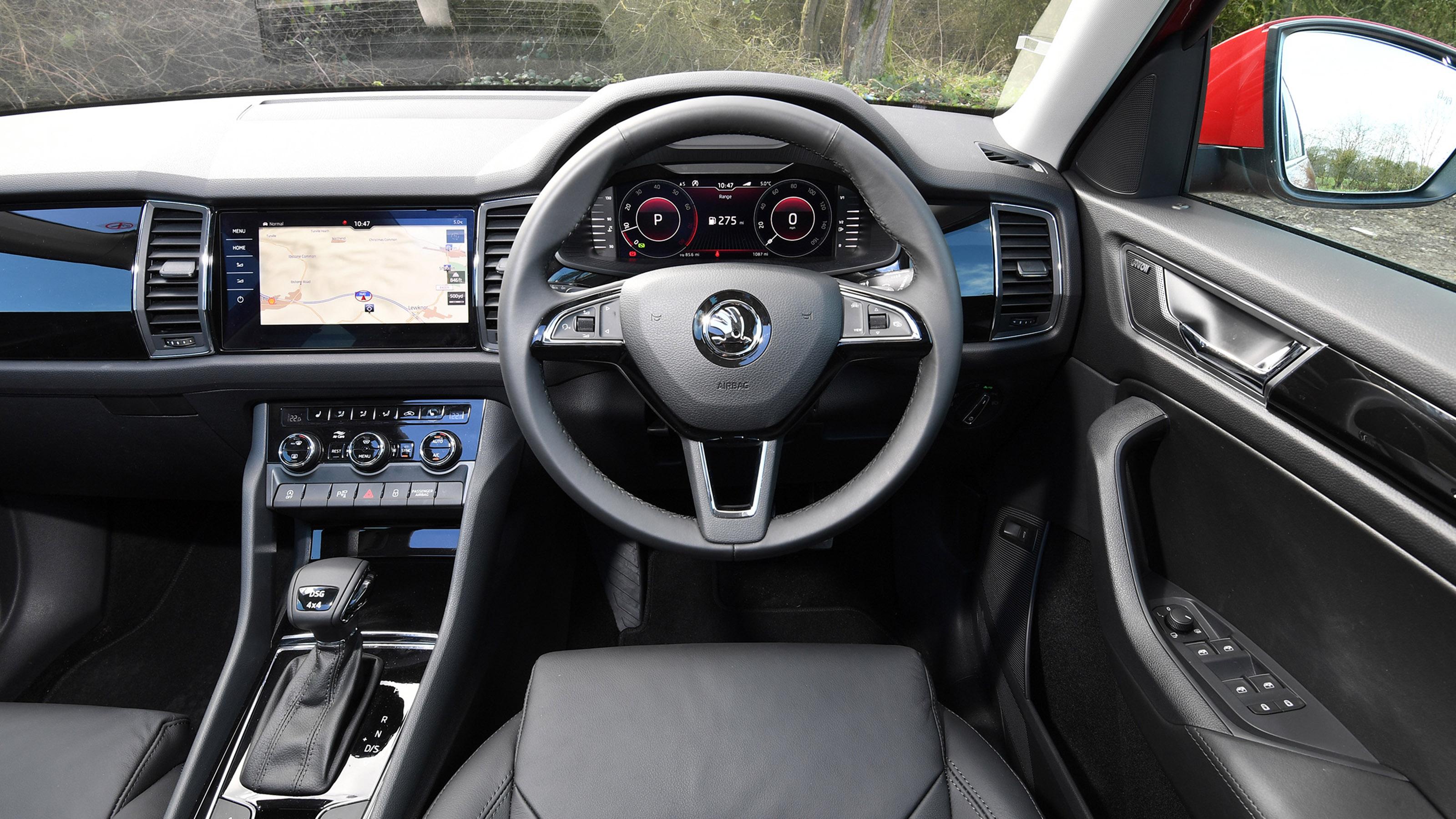 Skoda Kodiaq Suv Interior Comfort Carbuyer