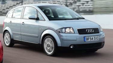 Audi A2 - front 3/4 view
