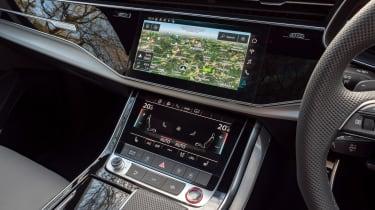 Audi SQ7 SUV centre console
