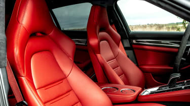 Porsche Panamera hatchback front seats