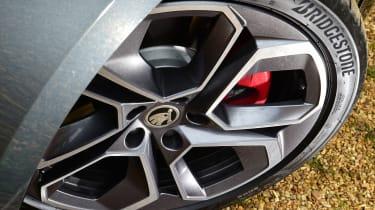 Skoda Octavia vRS hatchback alloy wheels