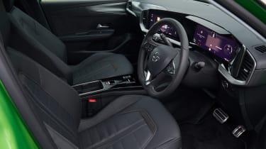 Vauxhall Mokka-e seats