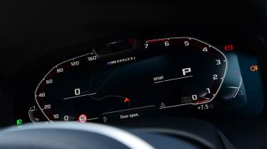 BMW 8 Series Gran Coupe saloon digital instruments