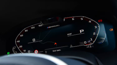 BMW 8 Series Gran Coupe saloon digital instruments