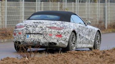 2021 Mercedes SL prototype - rear end
