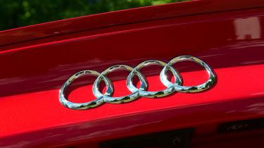 Audi S5 Sportback badge