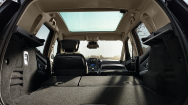 Boot space is excellent, and the rear seats are easy to fold