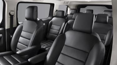 Vauxhall Vivaro-e Life seats