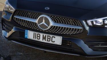 Mercedes CLA Shooting Brake grille
