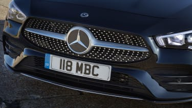 Mercedes CLA Shooting Brake grille