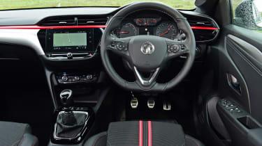 Vauxhall Corsa hatchback interior