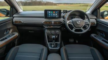 Dacia Sandero Stepway hatchback interior
