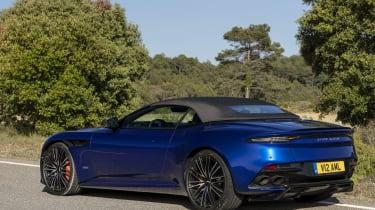 Aston Martin DBS Superleggera Volante rear 3/4