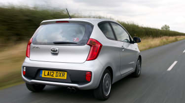 Like all Kias, the Picanto comes with a seven-year/100,000 mile warranty