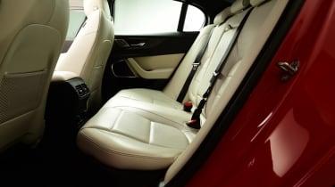 2019 Jaguar XE - rear seats