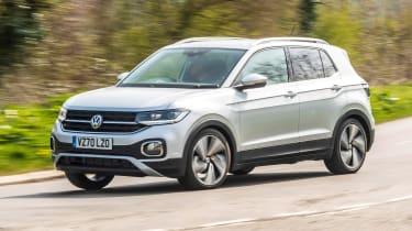 VW T-Cross driving