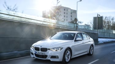 The BMW 330e iPerformance is the plug-in hybrid version of the BMW 3 Series Saloon