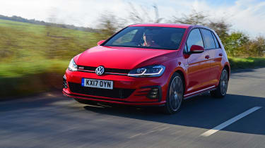 2017 Volkswagen Golf GTI driving