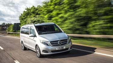 The Mercedes V-Class is a seven-seater people carrier that's based on the Vito van