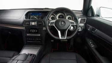 Mercedes E 400 Coupe - interior