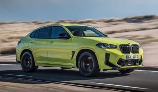 2021 BMW X4 M front 3/4 dynamic