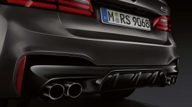 BMW M5 Edition 35 Years exhaust