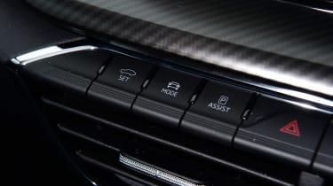 Skoda Octavia vRS hatchback switches