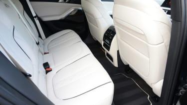 New BMW X6 2020 - rear seats