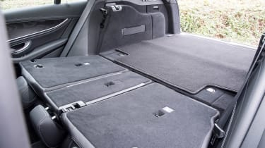 Mercedes E-Class estate seats down