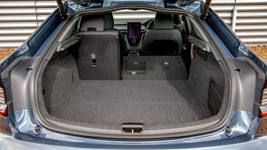 Polestar 2 hatchback boot