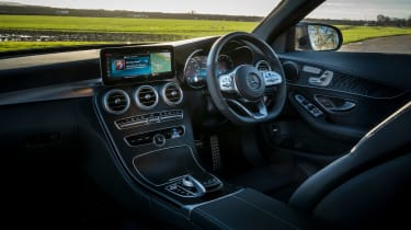 Mercedes C-Class saloon dashboard