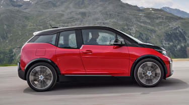 The sporty i3s gets improved performance and handling, with a slight reduction in official range